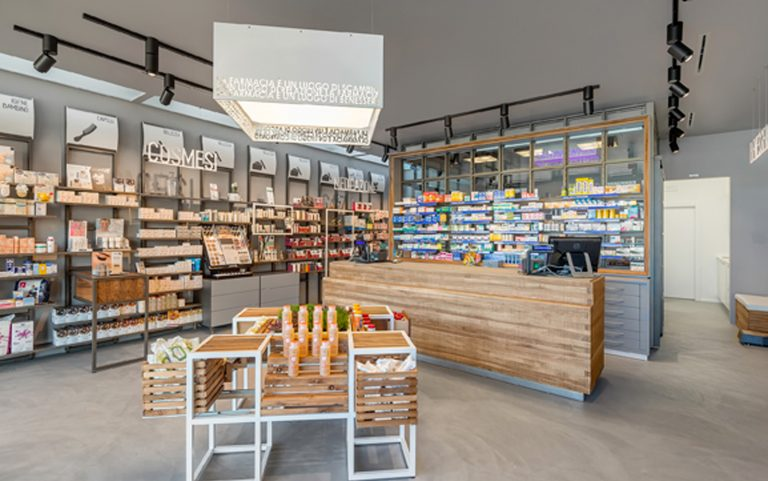 Open the new Farmacia Saleri with the concept PHARMACY 3.0