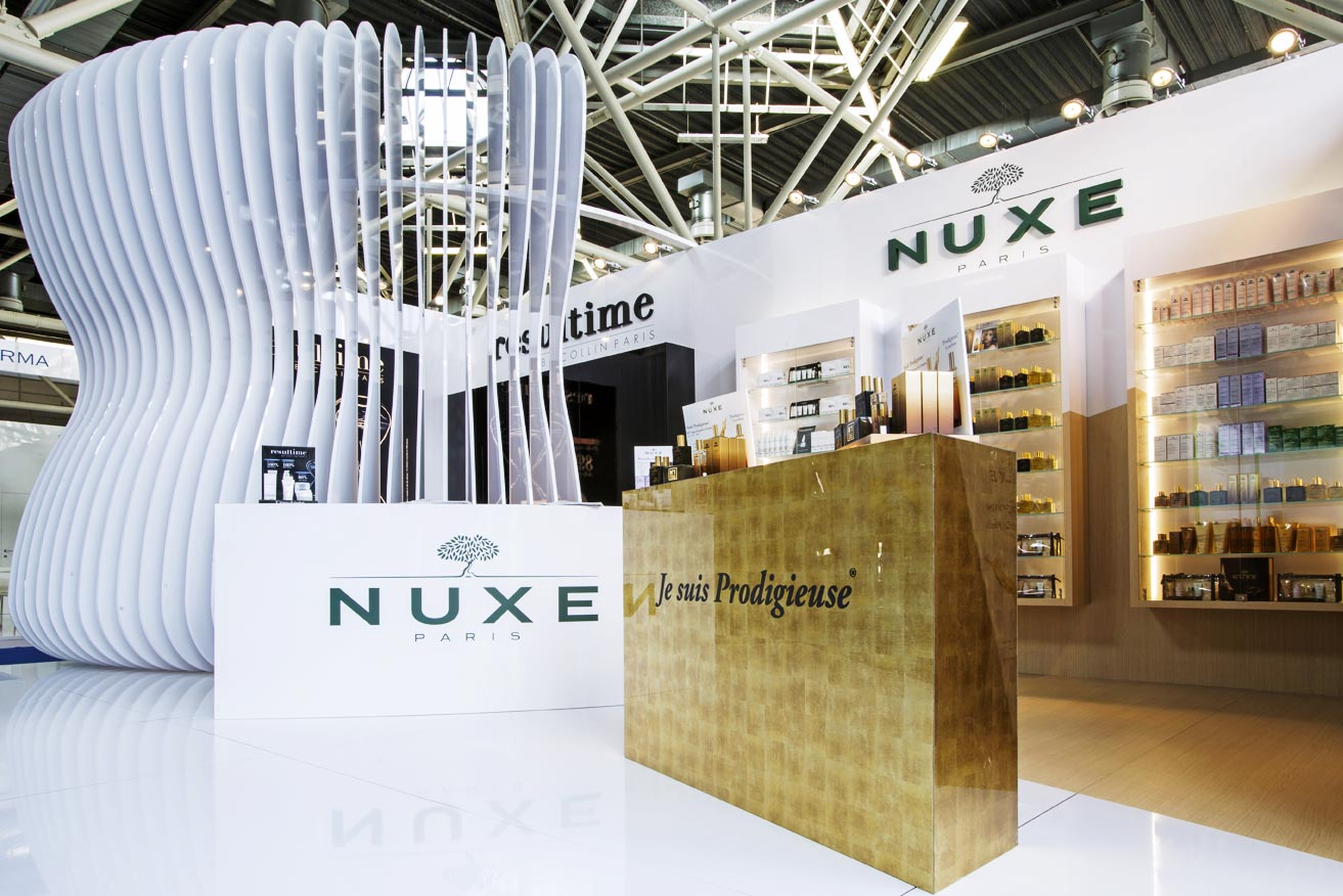 The project Laboratoire Nuxe Italia on Retailand