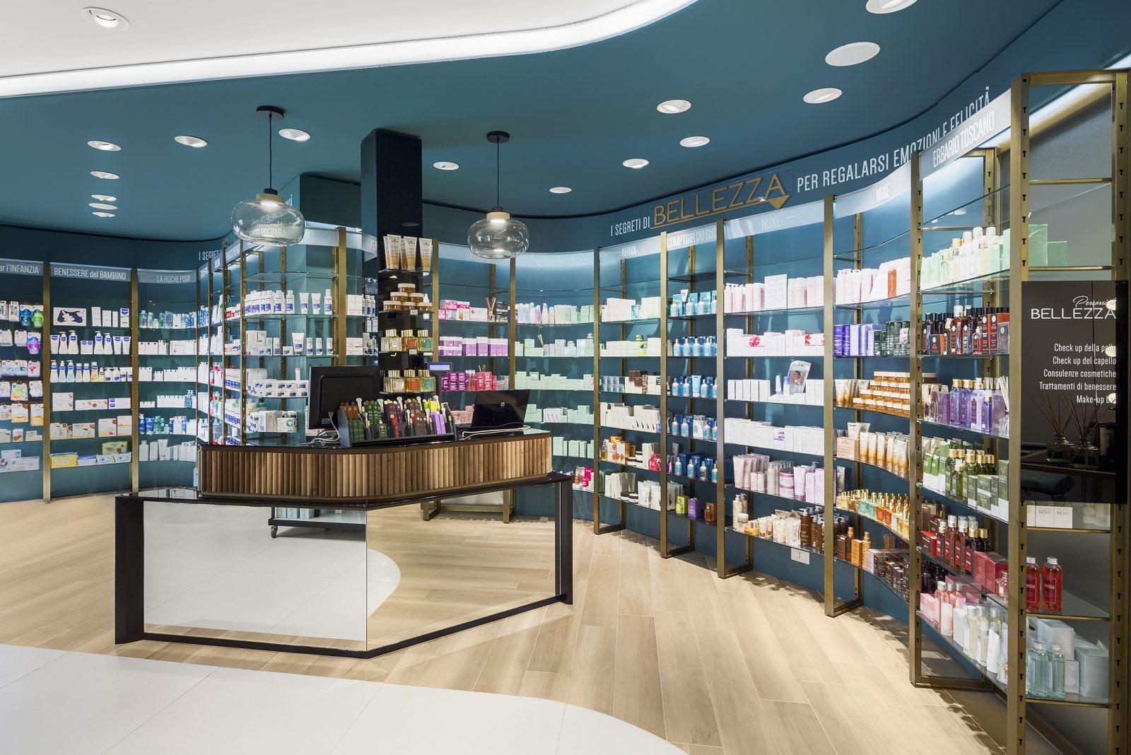 Il progetto Farmacia Centrale su Retail Design Blog