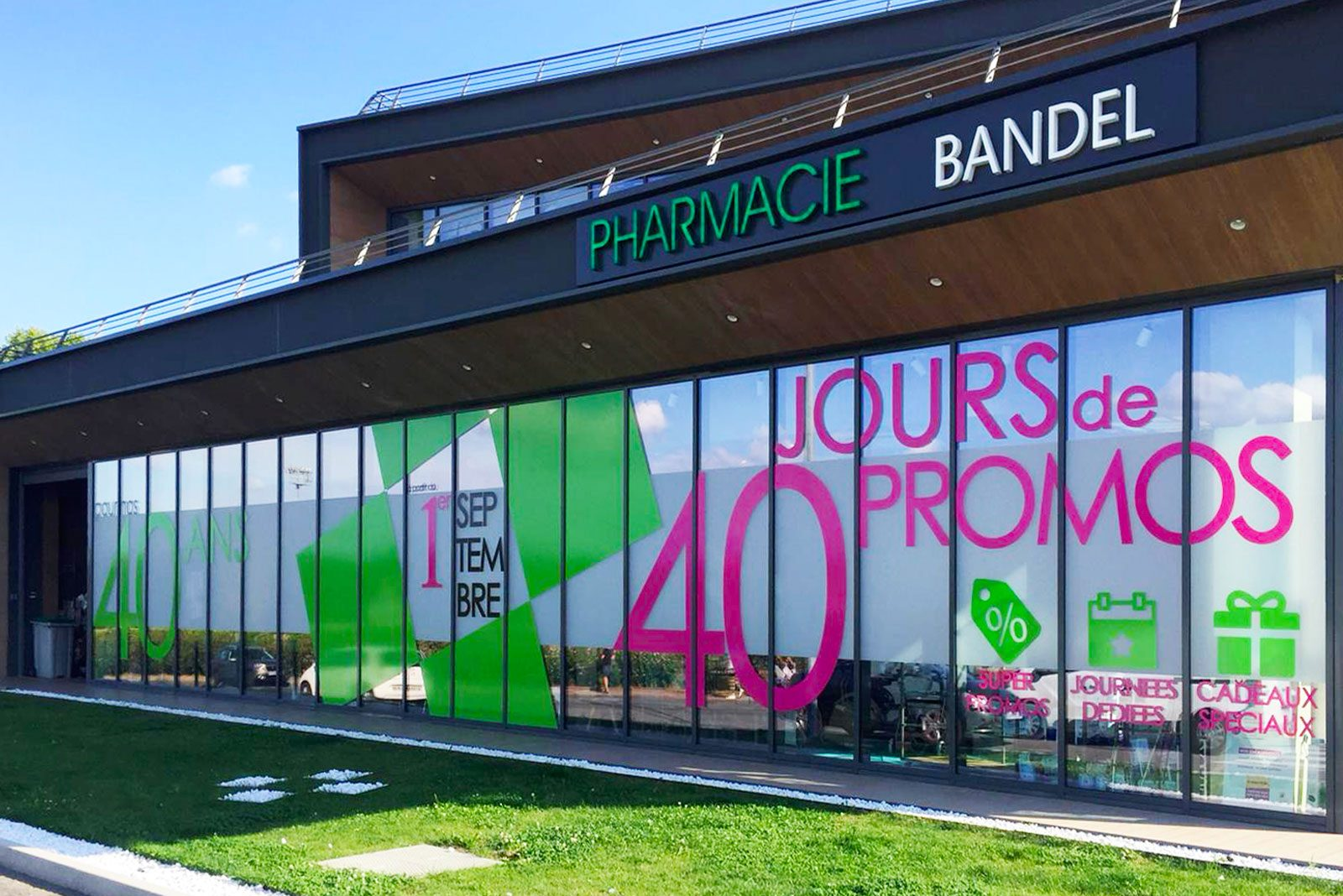 Pharmacie Bandel celebrates its 40th anniversary!
