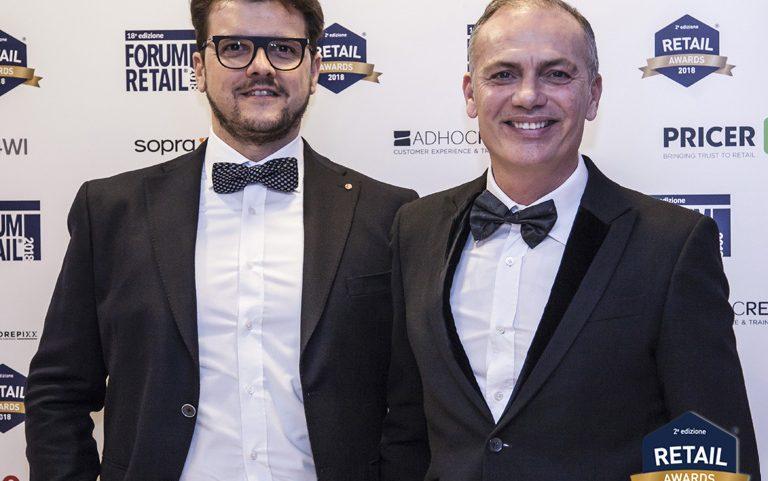 La serata di premiazione dei retail Awards 2018