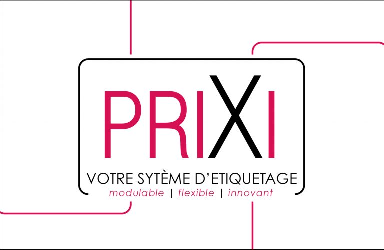 PRIXI : le porte prix modulable, flexible et avec un design innovant !