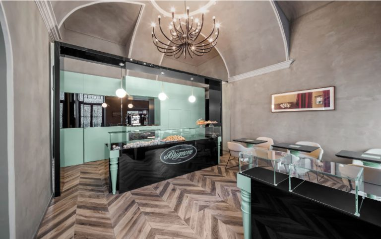 Pasticceria Brignone: when tradition and excellence meet design.