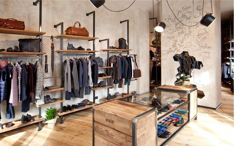Get Store Uomo: a project from authentic taste
