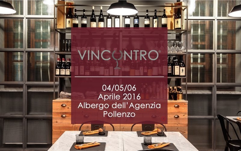 Save the date. On 4th, 5th and 6th April with the event #Vincontro at Pollenzo