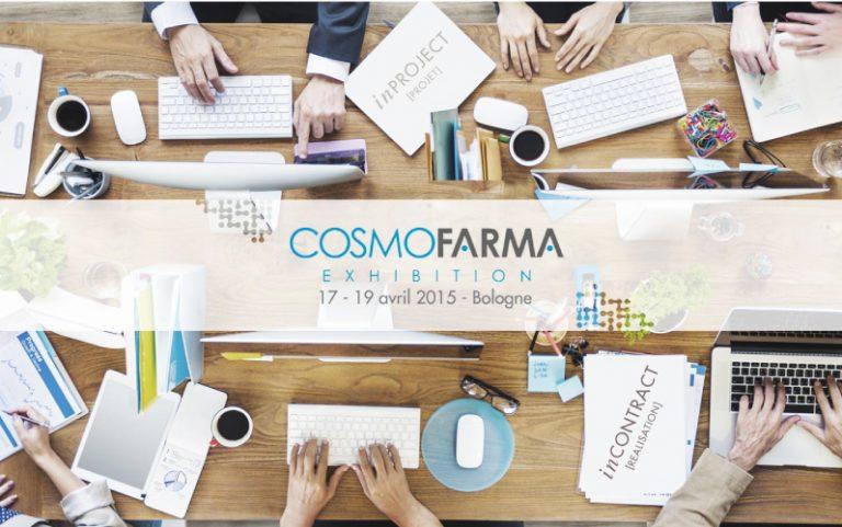 L'évolution de la PHARMACIE 3.0 à Cosmofarma 2015